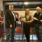Katherine Forson KT5KMF Receives the Hiram Percy Maxim Award